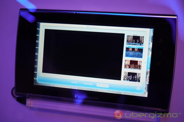 Panasonic Viera Connect Tablet and App Store | Ubergizmo