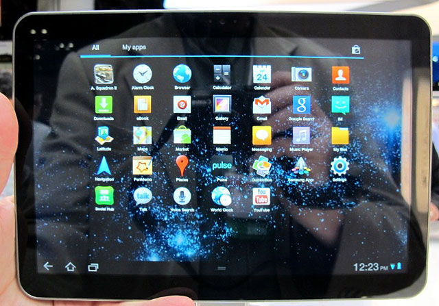 samsung galaxy tab preview