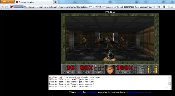 Doom browser
