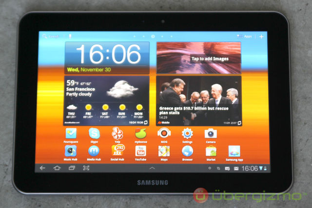 Samsung Galaxy Tab 8 9 Review | Ubergizmo