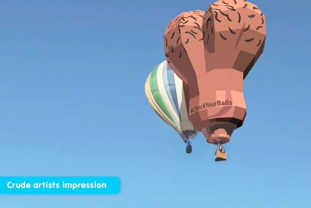 SkyBalls See 'Giant Testicles' Floating In The Air