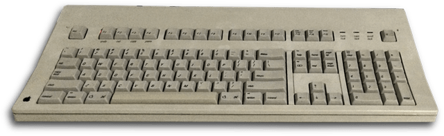 Apple-Extended-Keyboard-Raspberry-Pi