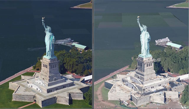 Earth View Mode In Google Maps Gets High Res 3d Imagery Ubergizmo