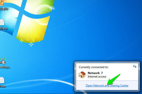 how to find internet password for windows 7