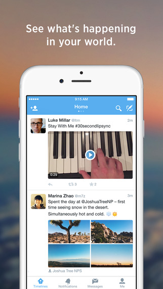 Twitter Updated For iOS 9 With Split-Screen Support | Ubergizmo