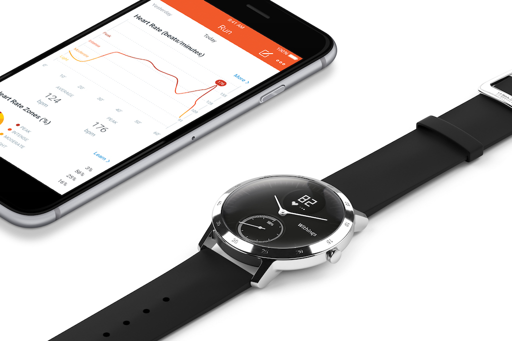 Withings Steel HR Is The First Normal Watch With Heart Rate