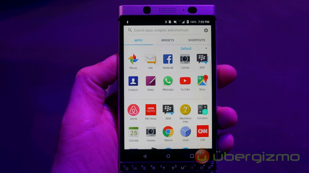 BlackBerry KEYone Official: Price, Specs, And Release Date | Ubergizmo