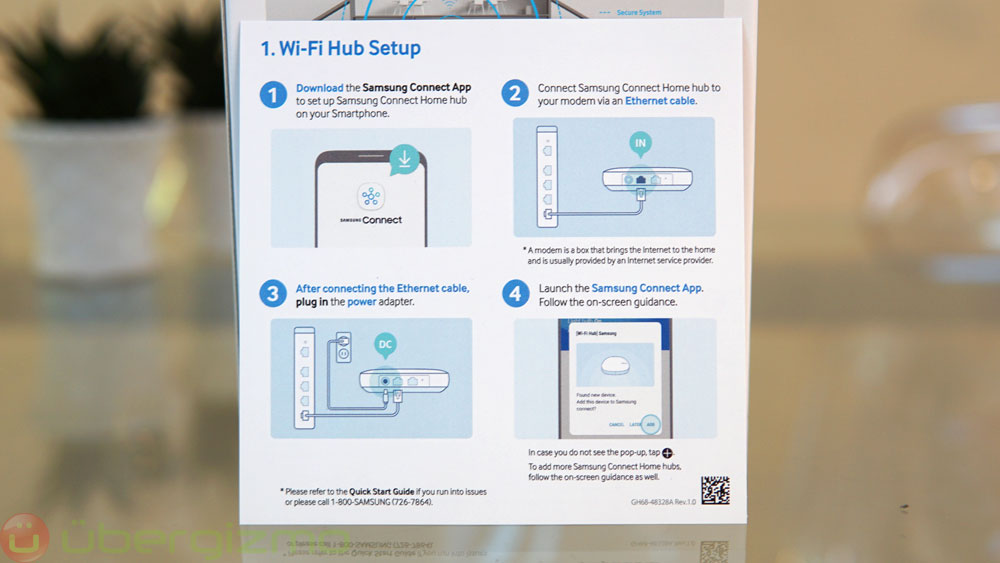 Samsung Connect Home Wifi Mesh Router Review Ubergizmo