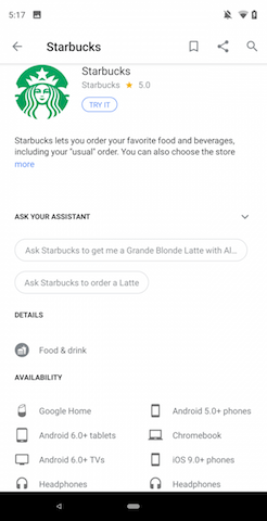 Google Assistant Can Now Order From Starbucks And Dunkin' Donuts