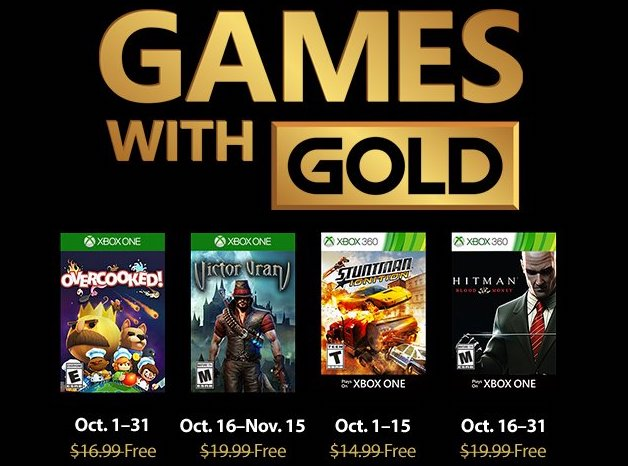 Xbox Free Games With Gold For October 2018 Confirmed | Ubergizmo