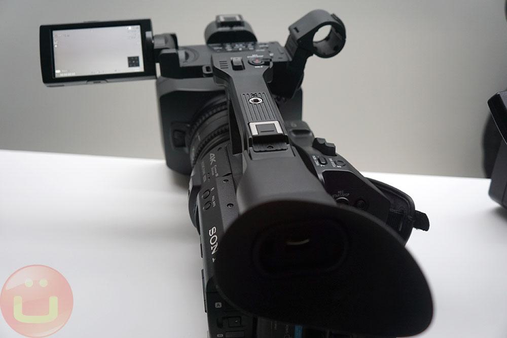 Sony XDCAM PXW-Z280 Camera At Inter Bee 2018   Ubergizmo