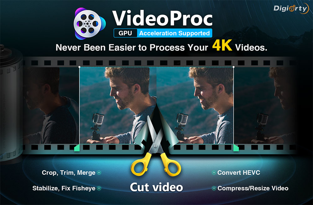 VideoProc Tutorial: Convert and Compress GoPro 4K Videos to Greatly