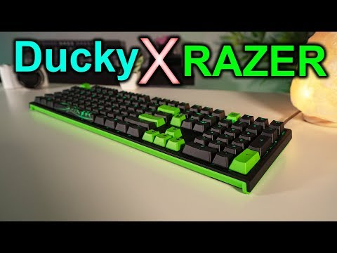 Razer And Ducky Team Up To Create A New Mechanical Keyboard