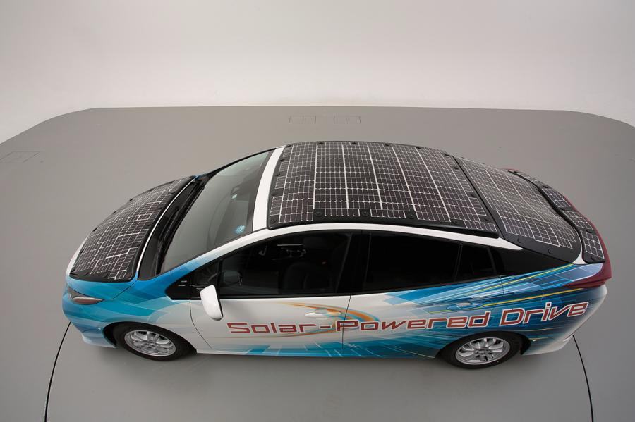 Toyota Testing An Electric Car With A Solar Roof That Can