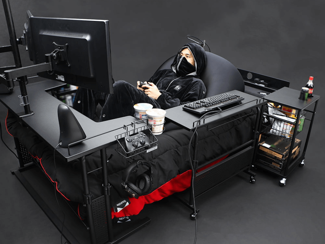 This Is The Ultimate Gaming Bed That You Would Want