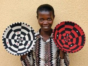 World famous , locally handmade, Agaseke basket