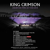 King Crimson 2018 tour poster