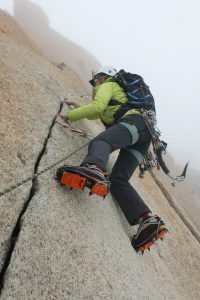 Photo of climber