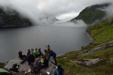 Camping at Tennesvetnet, Adam Dawson