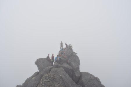 Summit of Hermanndalstinden, Adam Dawson