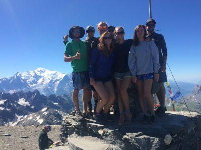 Summit of Mont Buet 3096m