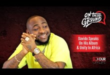 """Photo of Davido Chats About """"A Good Time"""" & Unity In Africa With Slikour"""
