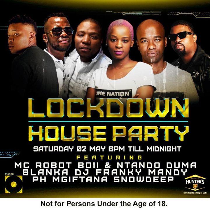 Catch DJ Mgiftana, Snowdeep, PH, Blanka, DJ Franky & Mandy On Channel O House Party Mix This Saturday 2nd May