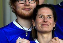 Photo of Ed Sheeran and wife, Cherry Seaborn welcome baby girl, Lyra