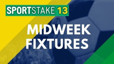 Photo of Sportstake 13 Midweek Fixtures