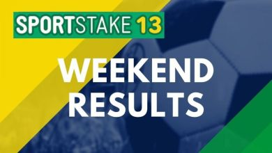 Photo of Sportstake 13 Weekend Results