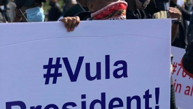 Photo of Mzansi Celebs React to the #VulaPresident Protests in Durban