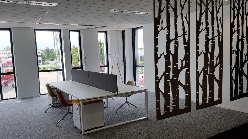 Mobilier Showroom BOUYGUES IMMOBILIER Ubia