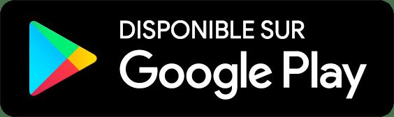 Disponible sur Google Play aide