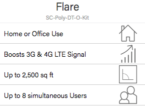 SureCall Flare Signal Booster