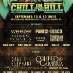 Chill on the Hill 2015 Part IV: JR JR, X Ambassadors, Cold War Kids, Coheed and Cambria, and Cage the Elephant