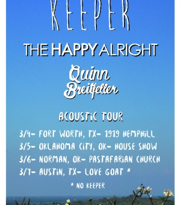 The Happy Alright Spring Tour