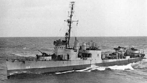 USS Leary I DD 158 Of The US Navy American Destroyer