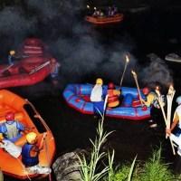 Bali Night Rafting Ubud Camp Half Day