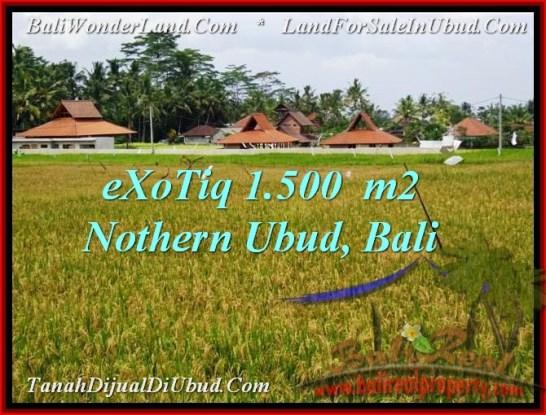 Exotic PROPERTY UBUD LAND FOR SALE TJUB488
