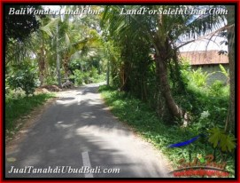 Magnificent LAND IN UBUD FOR SALE TJUB536