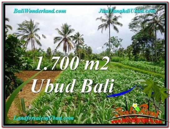 FOR SALE Beautiful PROPERTY 1,700 m2 LAND IN Ubud Payangan TJUB560