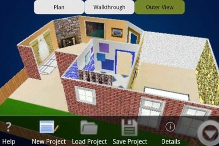 BuildApp, aplicación Android para el diseño de tu casa.