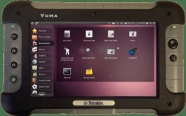yuma, tablet de uso militar con Ubuntu linux