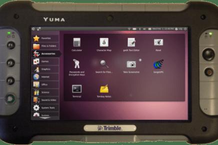 Trimble Yuma, tablet todoterreno con Ubuntu