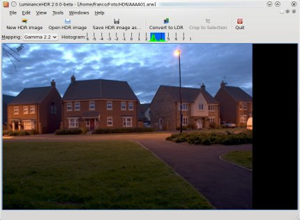 luminance, programa para edicion imagenes HDR