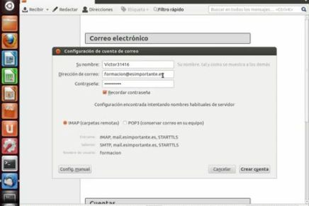 Curso Ubuntu 12.04 LTS Cap. 1.6 (Correo, Mensajería y Redes Sociales)
