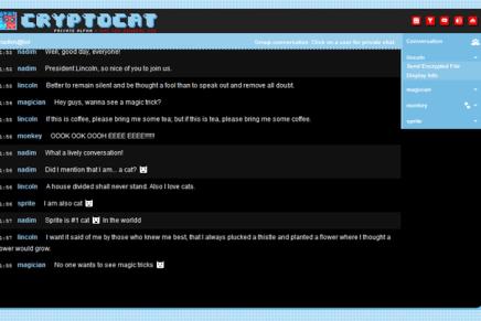 Cryptocat, conversaciones privadas y seguras.