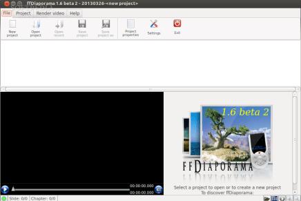 ffDiaporama, edita y crea vídeos con tus fotos