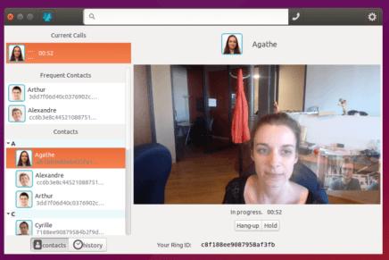 Ring, una alternativa libre y segura a Skype