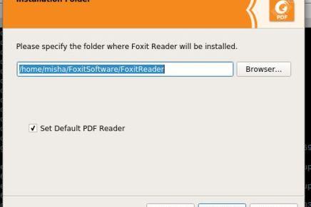 Instalando Foxit Reader en Linux